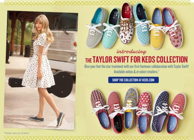 keds da Taylor S