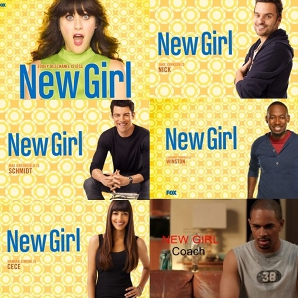 New girl Personagens