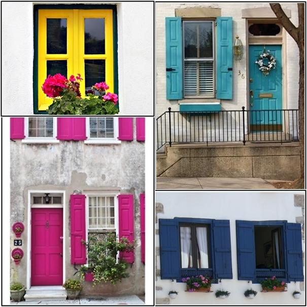 janelas coloridas