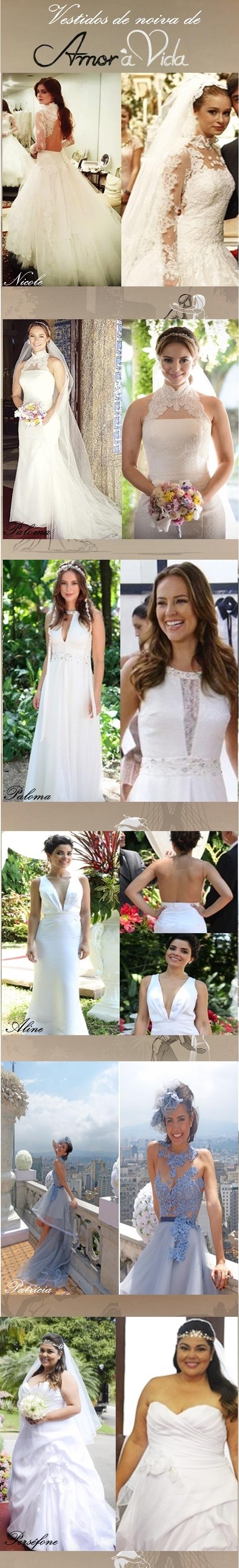 vestidos de noiva de amor a vida